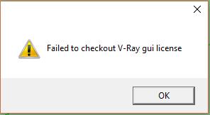 Hướng dẫn xử lý lỗi không thể kiểm tra license V-Ray GUI