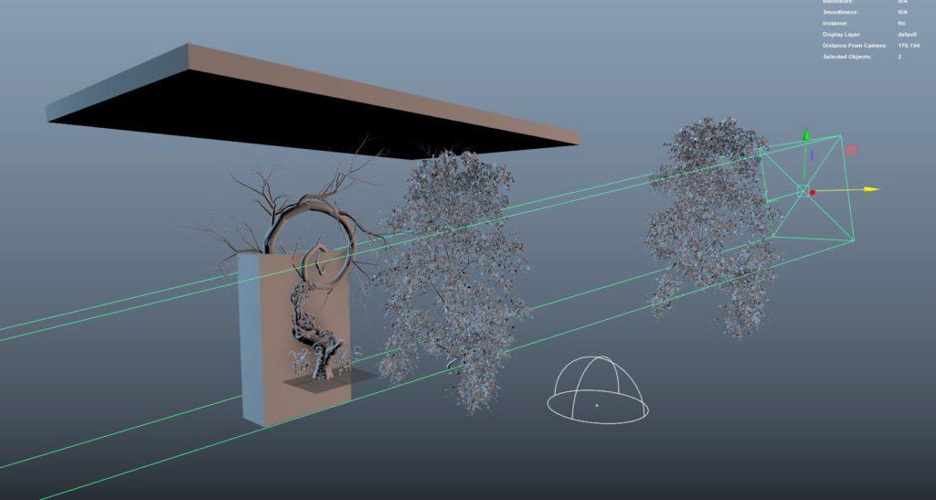 Thiết lập Leaf Shadows với V-Ray
