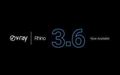 Phát hành V-Ray 3.6 for Rhino