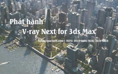 Chaosgroup ra mắt V-Ray Next for 3ds Max