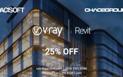 Giảm 25% cho V-Ray for Revit – Summer Promo Begins Today!